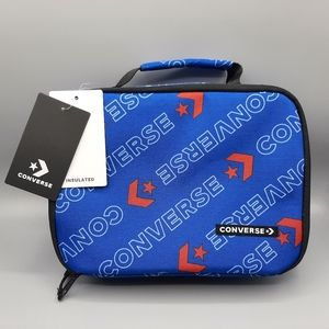 NWT NEW Converse Insulated Lunch Bag Blue and Red